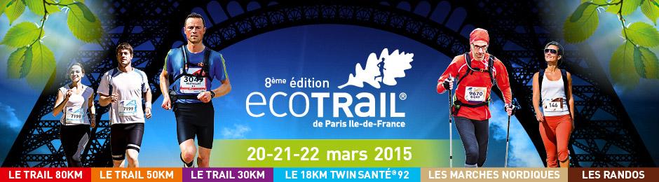 LE TYPE 1 RUNNING TEAM SUR L'ECOTRAIL DE PARIS