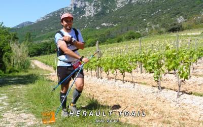 Guillaume Cano boucle le 73km du Festa trail (Hérault)