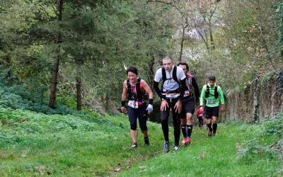 Ludovic sur le Lozère Trail 2017