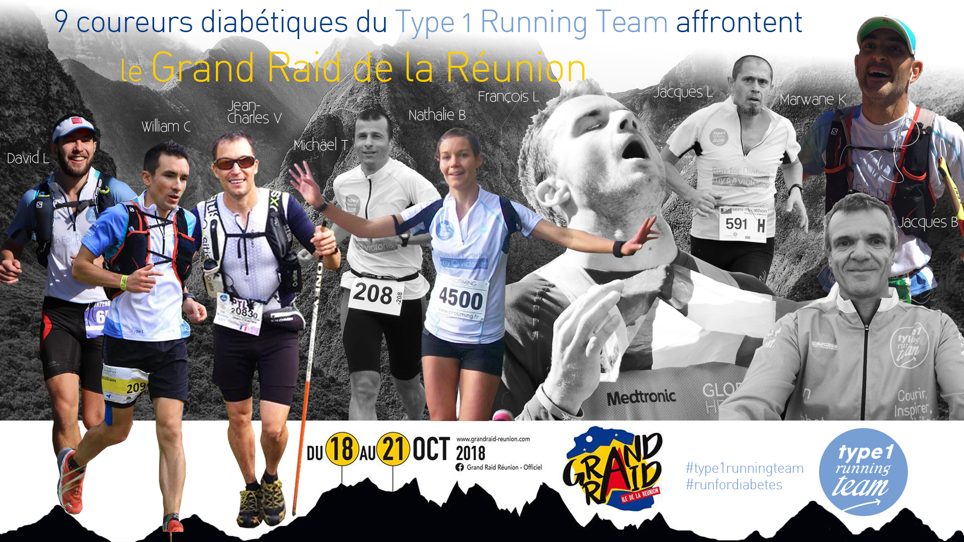 Grand Raid de la réunion - Type 1 Running Team