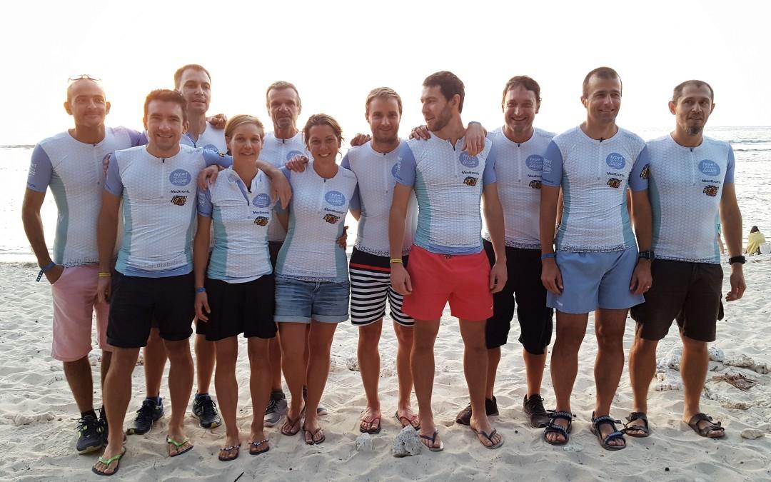 La Diagonale des Fous : 9 membres embarqués dans l'Aventure !