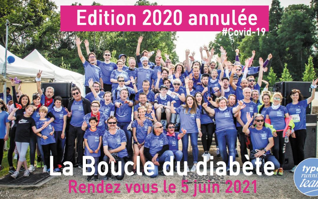 Boucle du diabète 2020 – Annulée