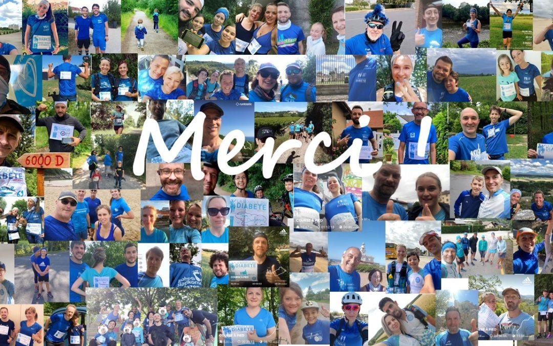 Boucle du Diabète 2020 | Aux 4 coins de la France & du Monde